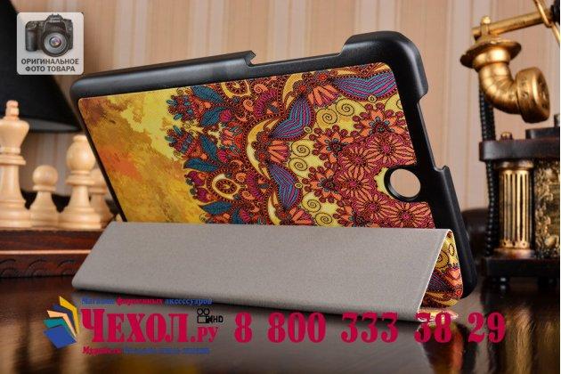 """Фирменный уникальный необычный чехол для Acer Iconia One 8 B1-850-K0GL (NT.LC4EE.002) 8.0 """"тематика Эклектические Узоры"""""""