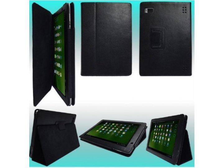 Фирменный чехол-обложка для Acer Iconia Tab A500/A501 черный..