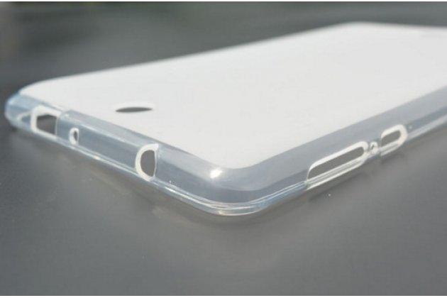 Фирменная ультра-тонкая полимерная из мягкого качественного силикона задняя панель-чехол-накладка для Acer Iconia One 7 B1-770-K75V 16Gb, NT.LBKEE.002 белая