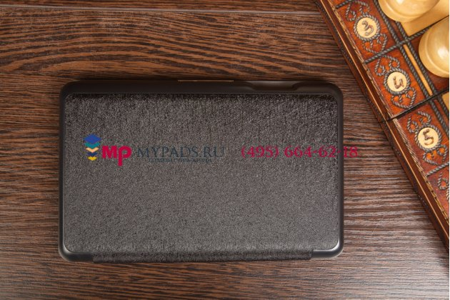 """Фирменный умный чехол самый тонкий в мире для Acer Iconia Tab B1-720/B1-721 """"Il Sottile черный пластиковый Италия"""