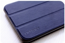 """Фирменный умный тонкий чехол для Acer Iconia Talk 7 B1-723 3G 7.0"""" """"Mercury"""" черный"""