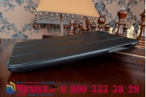 """Фирменный умный чехол самый тонкий в мире для планшета Acer Iconia One 8 B1-810/B1-811 """"Il Sottile"""" черный пластиковый"""