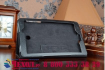Фирменный чехол обложка для Acer Iconia Tab 8 A1-840/A1-841 FHD черный кожаный