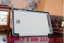 """Фирменный умный чехол самый тонкий в мире для Acer Iconia Tab 8 A1-840/A1-841 FHD """"Il Sottile"""" черный пластиковый"""