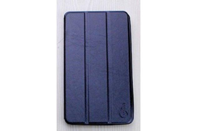 """Фирменный умный тонкий легкий чехол для Acer Iconia One 7 Hd B1-760HD (K057 / NT.LB1EE.004) """"Il Sottile"""" черный пластиковый"""
