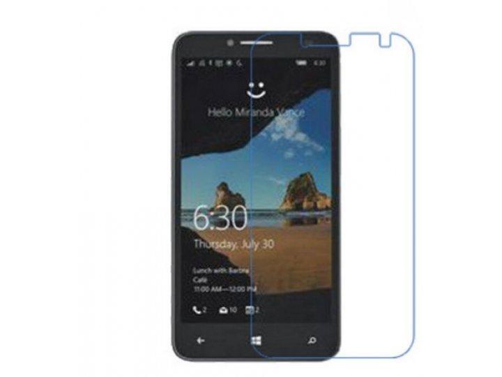 Фирменная оригинальная защитная пленка для телефона Alcatel One Touch Fierce XL 5054D / POP 3 5054D  глянцева..