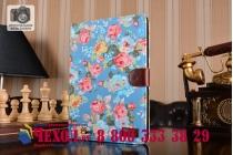 """Фирменный необычный чехол для Apple iPad Air 1 """"тематика Винтажные Розы"""""""