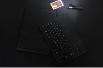 """Фирменный чехол со съёмной Bluetooth-клавиатурой для  iPad Pro 9.7"""" черный  кожаный + гарантия"""