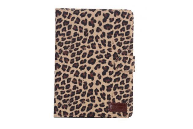 Чехол- защитный кожух для iPad mini 4леопардовый коричневый