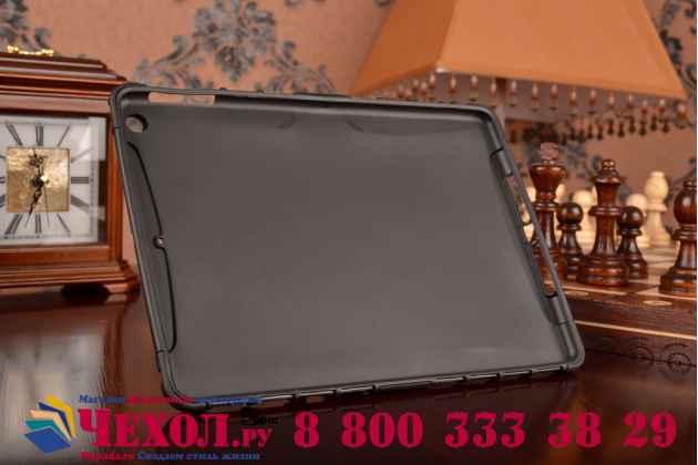 Противоударный усиленный ударопрочный фирменный чехол-бампер-пенал для iPad Air 1 черный