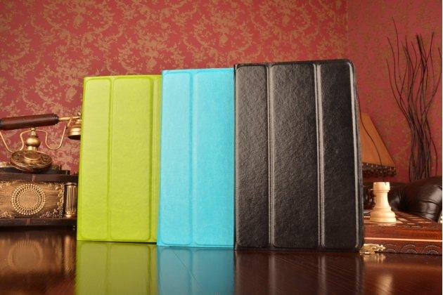 Чехол с вырезом под камеру для планшета Acer Iconia Tab A1-810/A1-811 с дизайном Smart Cover ультратонкий и лёгкий. цвет в ассортименте