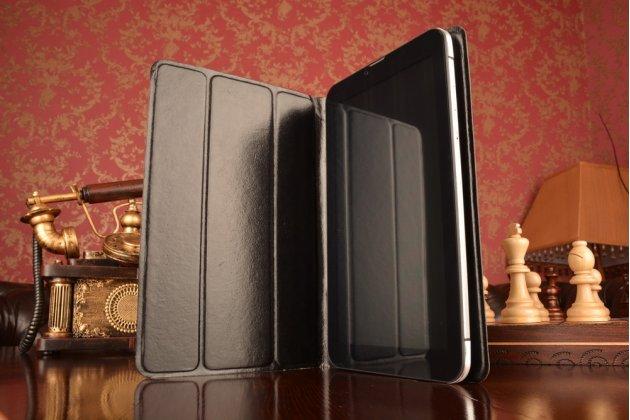 Чехол с вырезом под камеру для планшета iPad 4 с дизайном Smart Cover ультратонкий и лёгкий. цвет в ассортименте