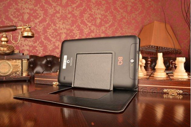 Чехол с вырезом под камеру для планшета Iconia Tab B1-A71 с дизайном Smart Cover ультратонкий и лёгкий. цвет в ассортименте