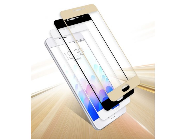 Фирменное 3D защитное изогнутое стекло с закругленным изогнутым краем которое полностью закрывает экран / дисп..