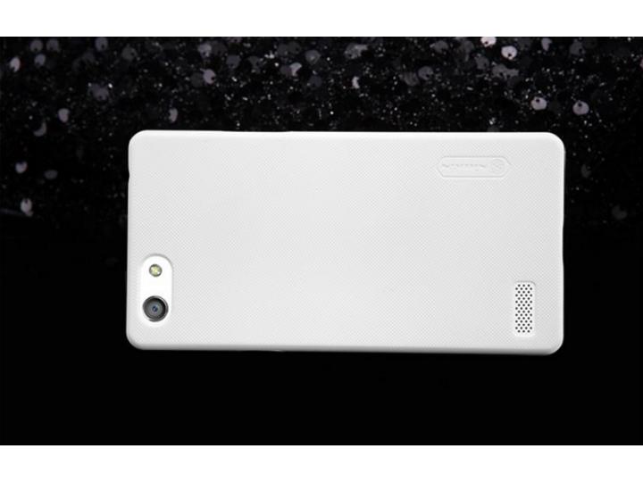 Фирменная задняя панель-крышка-накладка из тончайшего и прочного пластика для Oppo Neo 7