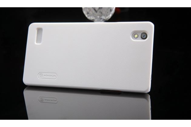 """Фирменная задняя панель-крышка-накладка из тончайшего и прочного пластика для Oppo Mirror 5"""" белая"""