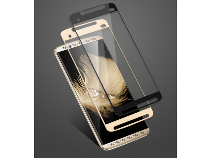 Фирменное 2D защитное изогнутое стекло с закругленными изогнутыми краями которое полностью закрывает экран / д..