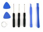 Мобильный удобный набор инструментов для ремонта-разбора-вскрытия сотовых телефонов и планшетов состоит из 8 инструментов