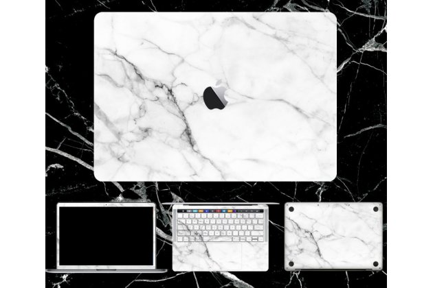 Фирменная оригинальная защитная пленка-наклейка на твёрдой основе, которая не увеличивает ноутбук в размерах для Apple MacBook Air 13 Early 2015 ( MJVE2 / MJVG2) 13.3