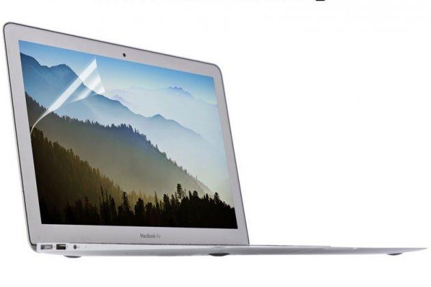 Фирменная оригинальная защитная пленка для ноутбука Apple MacBook Air 11 Early 2014 ( MD711 / MD712) 11.6 глянцевая