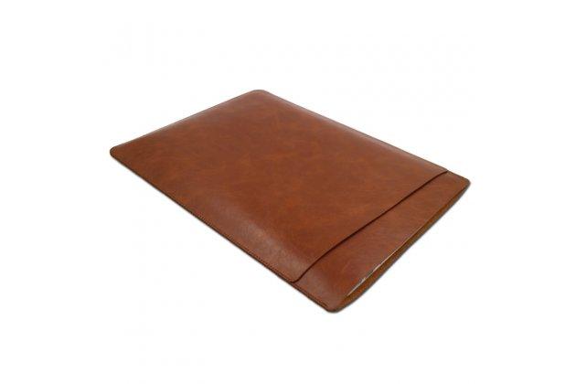Фирменный оригинальный чехол-клатч-сумка с визитницей и отделением для дополнительных аксессуаров для Apple MacBook Air 11 Early 2015 (MJVM2/ MJVP2) 11.6 / Apple MacBook Air 11 Early 2014 ( MD711 / MD712) 11.6 из качественной импортной кожи