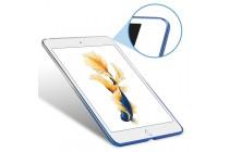 Фирменная ультра-тонкая полимерная задняя панель-чехол-накладка из силикона для iPad Pro 12.9 прозрачная с эффектом дождя