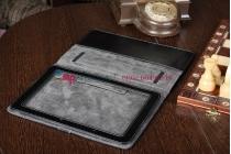 Чехол-обложка для Acer Iconia Tab A700/A701 джинсовый с кожей