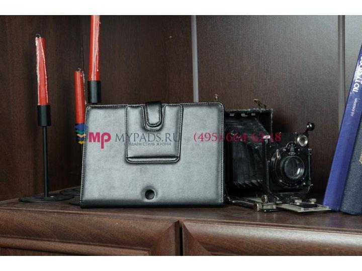 Чехол для Sony Tablet S черный кожаный..